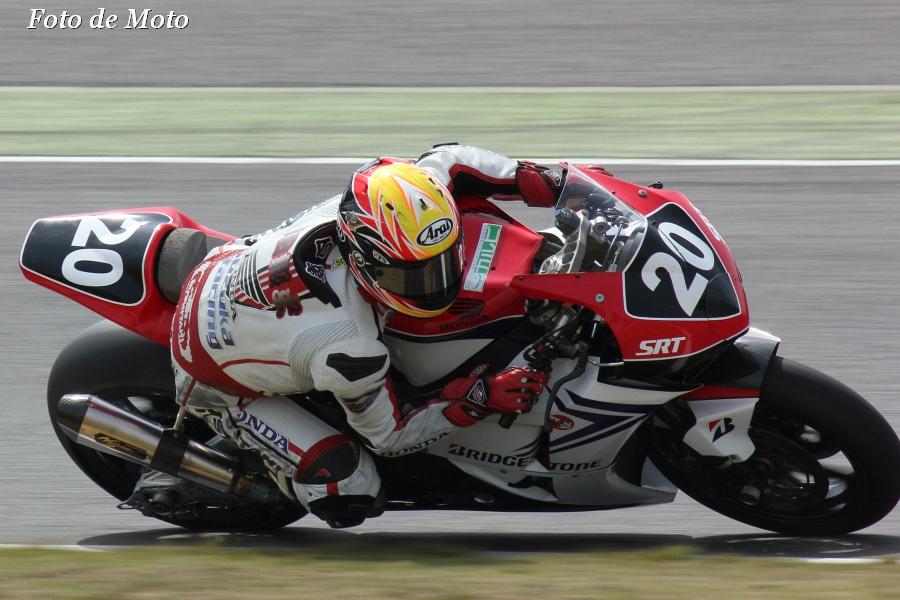 JSB1000 #20 Honda鈴鹿レーシング   安田 毅史 ホンダ CBR1000RR