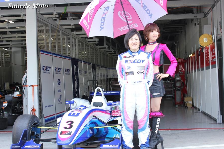 F3 #3 EXEDY RACING F307 A .Miura/三浦 愛 Dallara F307