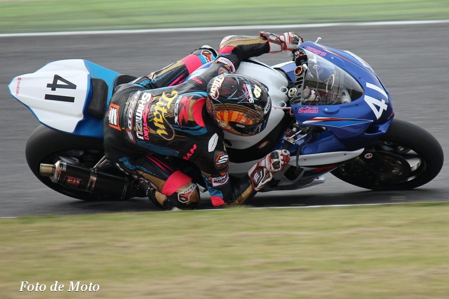 JSB1000 #41 浜松チームタイタン   清水 祐生 スズキ GSX-R1000