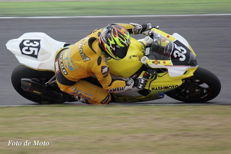 JSB1000 #35 Team・橋本組アケノスピード   稲垣 誠 Inagaki Makoto スズキ GSX-R1000