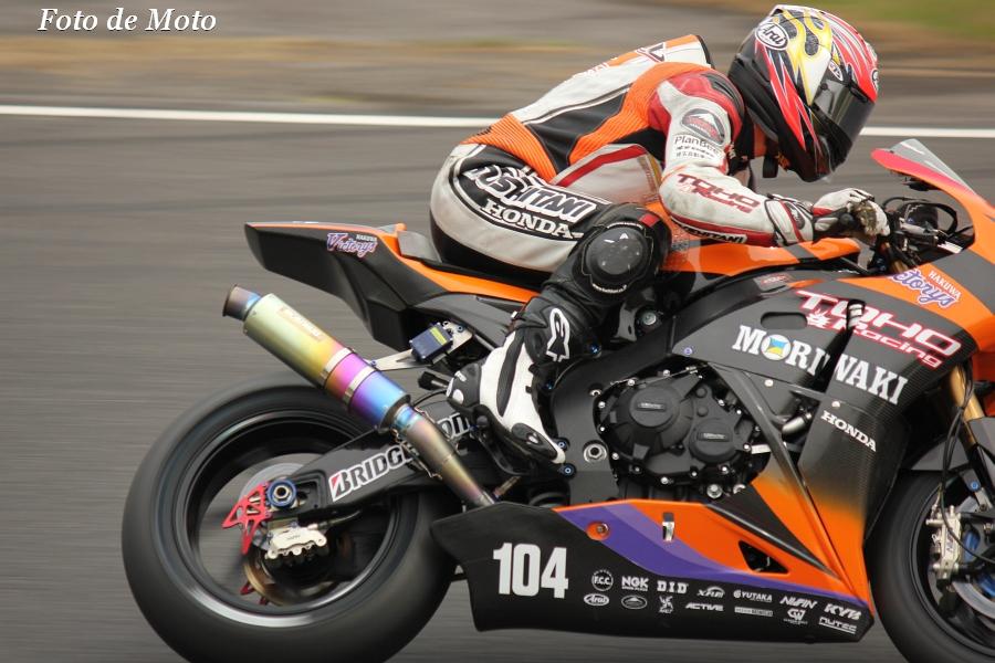 JSB1000 #104 TOHORacing with MORIWAKI   山口 辰也 Yamaguchi Tatsuya ホンダ CBR1000RR