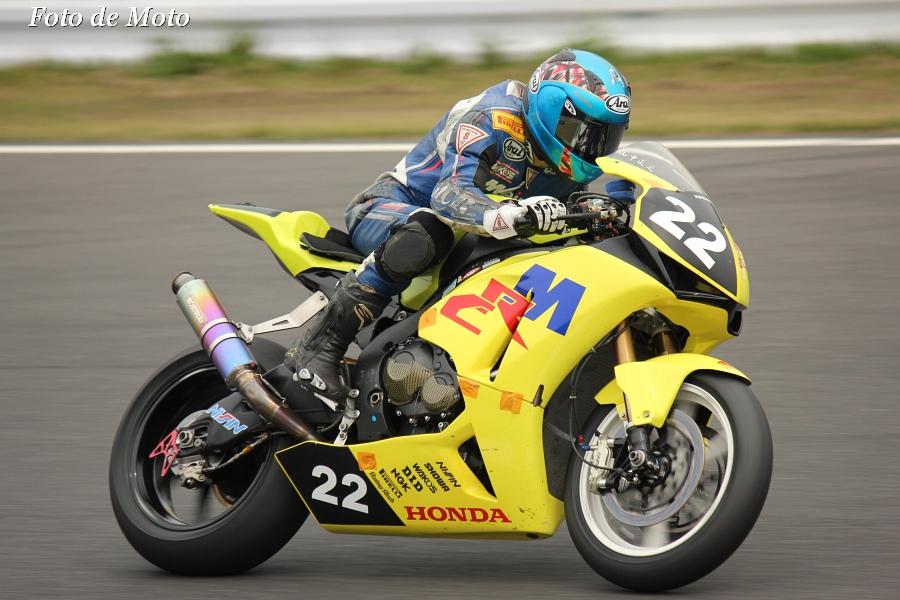 JSB1000 #22 HondaQCT明和レーシング   山中 正之 ホンダ CBR1000RR