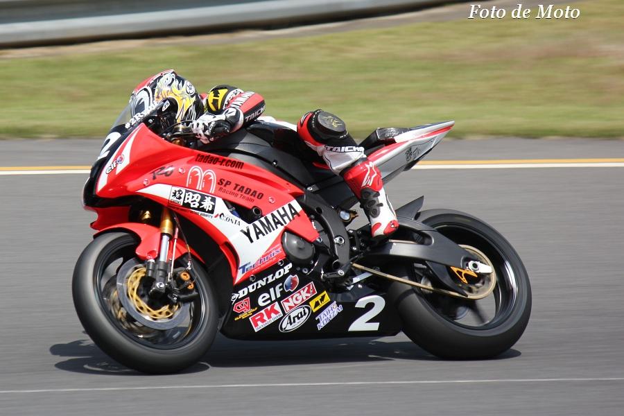 ST600 #2 SP忠男レーシングチーム 横江 竜司 Yokoe Ryuji YZF-R6