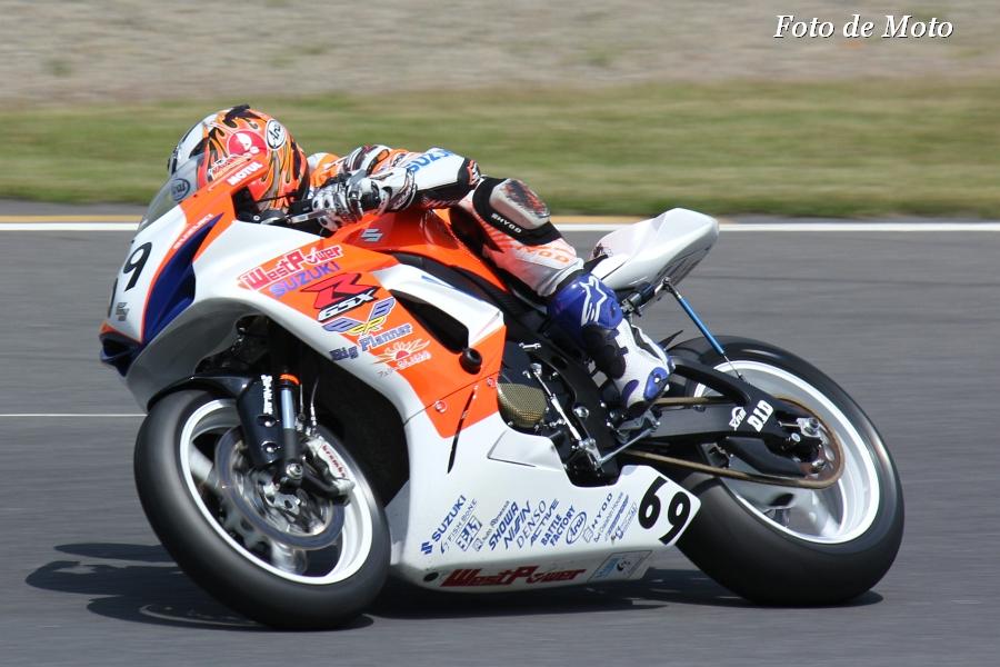 ST600 #69 WestPower SUZUKI 津田 一磨 Tsuda Kazuma GSX-R600