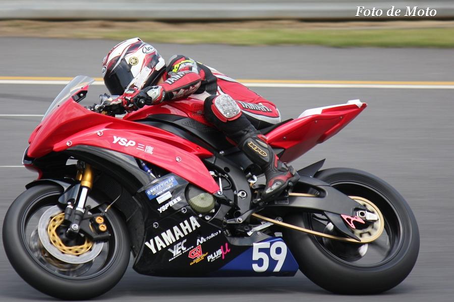 ST600 #59 Team YSP三鷹 若松 宏 YZF-R6