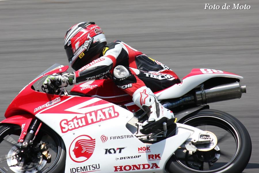 J-GP3 #88 Astra Honda Racing Team Gerry Salim NSF250R