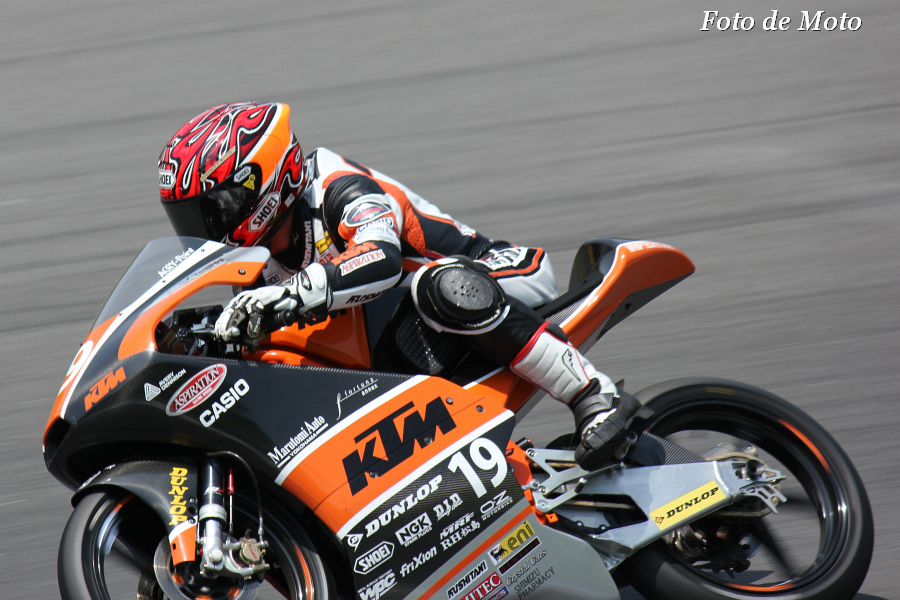 J-GP3 #19 KTM RACING. ASPIRATION 古市 右京 Furuichi Ukyo RC250R