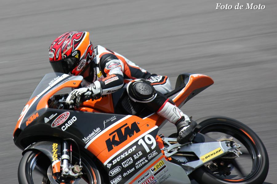 J-GP3 #19 KTM RACING. ASPIRATION 古市 右京 Furuichi Ukyo RC250R