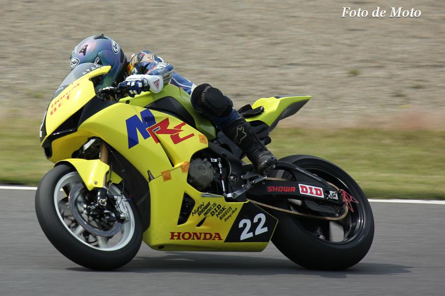 JSB1000 #22 HondaQCT明和レーシング 山中 正之 CBR1000RR