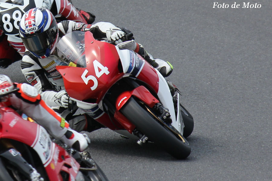 JSB1000 #54 HondaブルーヘルメットMSC熊本 大橋 靖洋 CBR1000RR