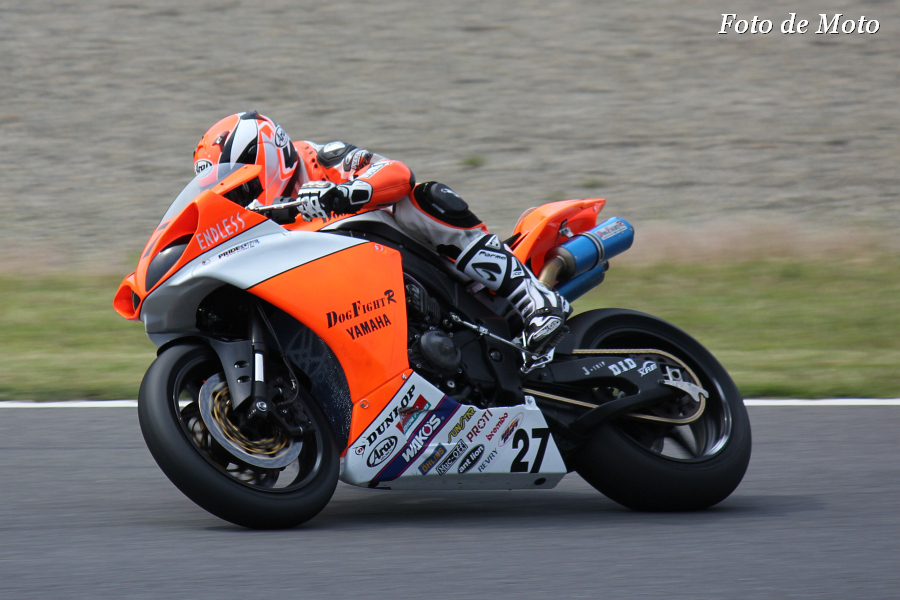 JSB1000 #27 DOG FIGHT RACING・YAMAHA 中澤 孝之 YZF-R1