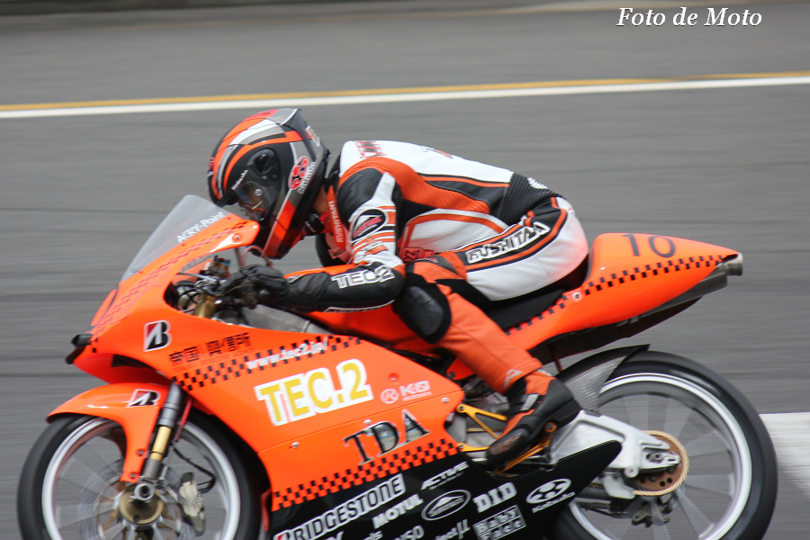 J-GP3 #10 TEC2 & NOBBY & TDA 菊池 寛幸 Kikuchi Hiroyuki NSF250R