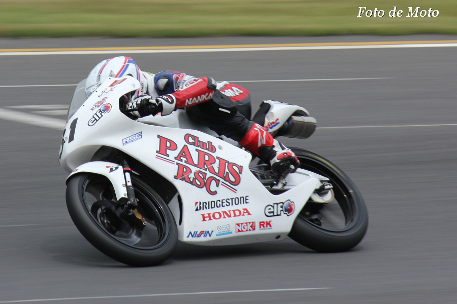 J-GP3 #31 Club PARIS RSC 岩戸 亮介 Iwato Ryosuke NSF250R