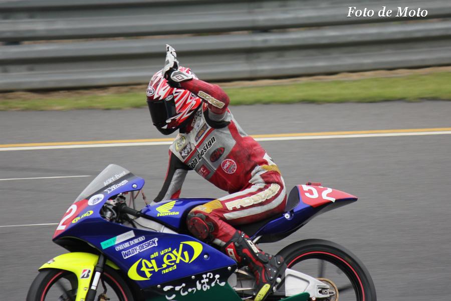 J-GP3 #52 FLEX RacingTEAM 古澤 幸也 NSF250R