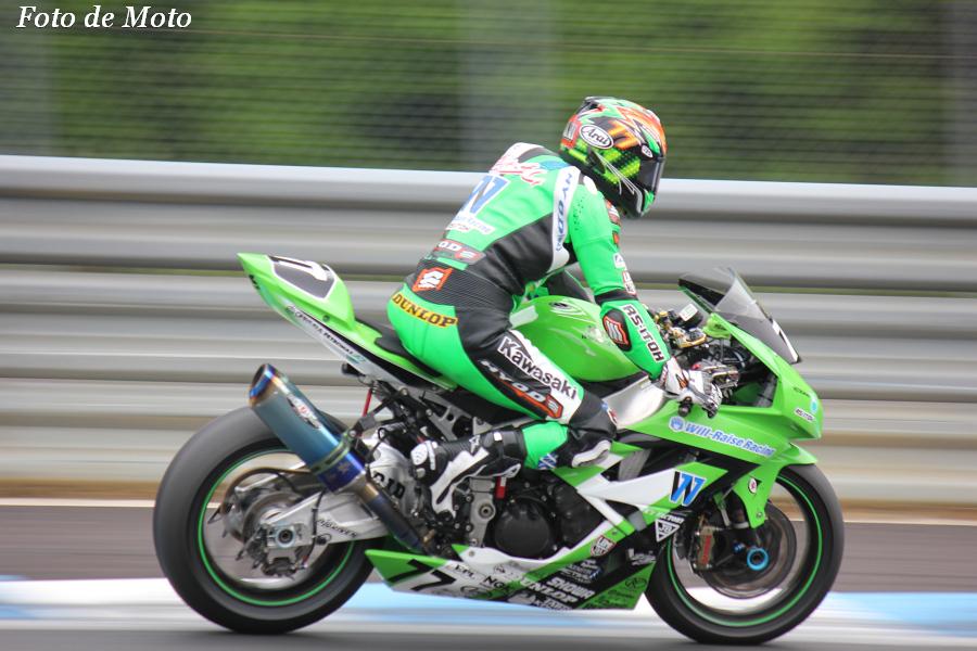 J-GP2 #77   WILL-RAISE&RS-I   井筒 仁康 Izutsu Hitoyasu ZX-6R
