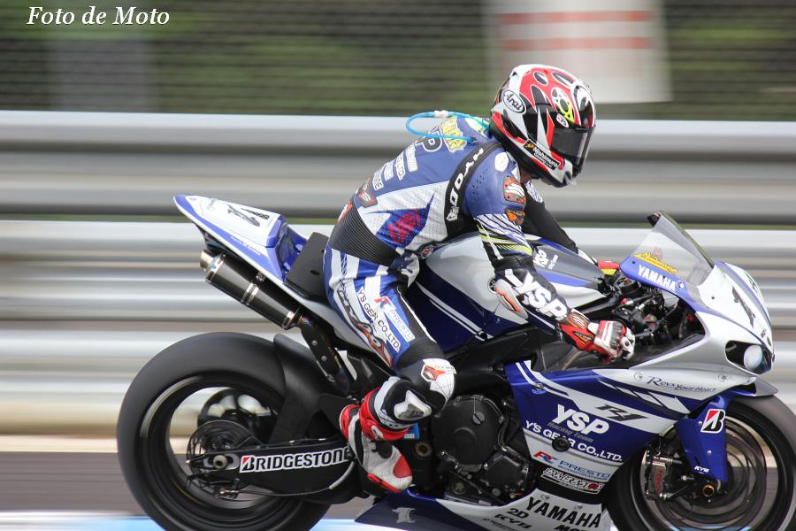 JSB1000 #1 ヤマハ YSP レーシングチーム 中須賀 克行 Nakasuga Katsuyuki YZF-R1