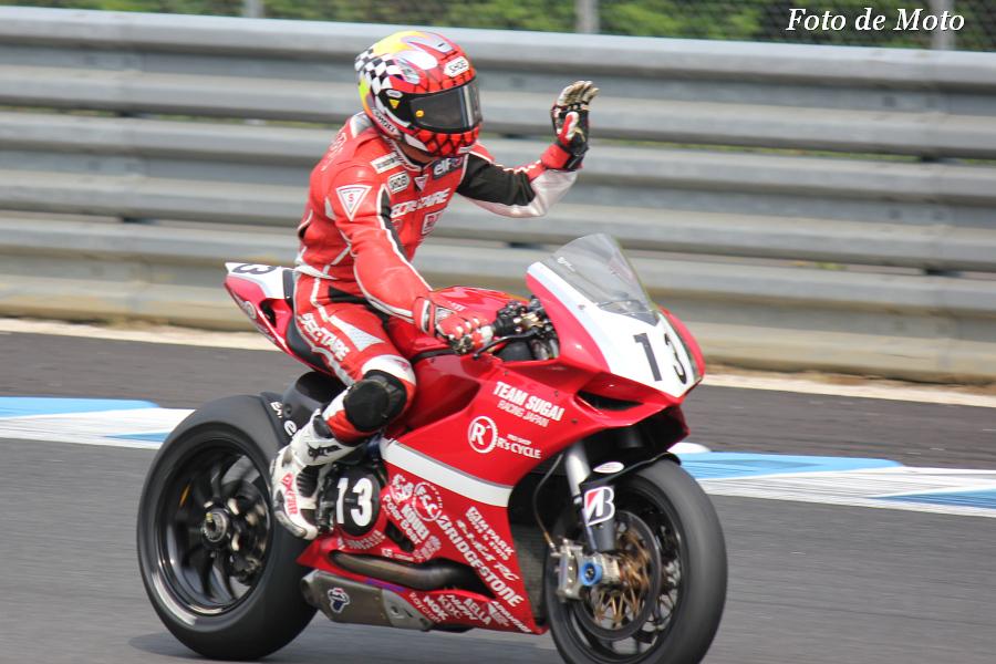 JSB1000 #13 チームスガイレーシングジャパン 須貝 義行 Sugai Yoshiyuki 1199PanigaleR