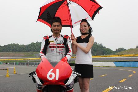 JSB1000 #61  HondaブルーヘルメットMSC熊本  森 健祐 CBR1000RR