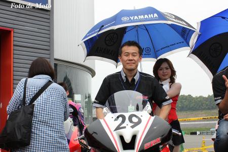 J-GP2 #29  GBSレーシング YAMAHA 山村 良憲 YZF-R6
