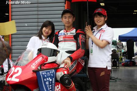 J-GP3 #22 TECHNICA with KUSHITANI西宮 中山 翔太 NSF250R