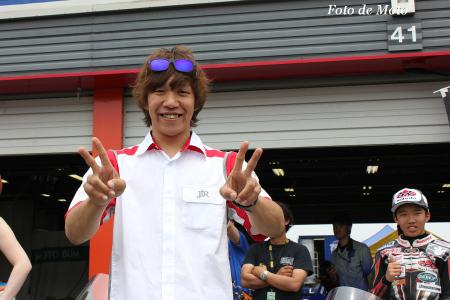 J-GP2 #6 Bラリーアート&テルル TSR 長島 哲太 TSR2
