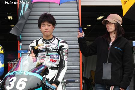 J-GP3 #36 CLUBNEXT&MOTOBUM 吉広 光 NSF250R
