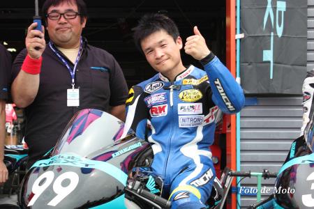 J-GP3 #99 CLUBNEXT&MOTOBUM 佐藤 正之 NSF250R