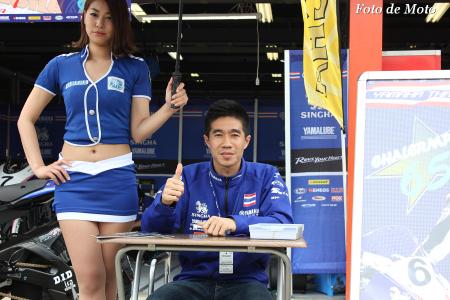 ST600 #65 Yamaha Thailand Racing Team Chalermpol POLAMAI YZF-R6
