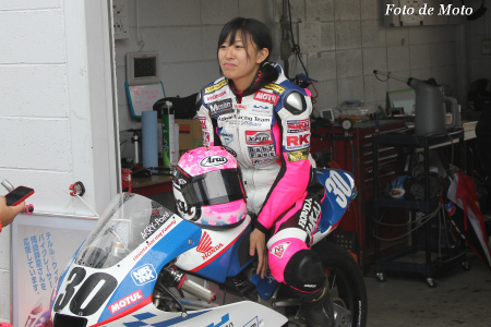J-GP3 #30 KoharaRacing 岡崎 静夏 Okazaki Shizuka NSF250R