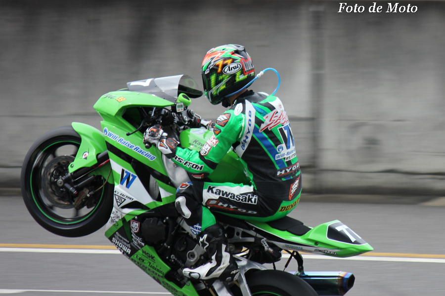 J-GP2 #77 Will-Raise Racing RS-ITOH 井筒 仁康 Izutsu Hitoyasu ZX-6R