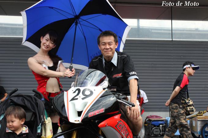 J-GP2 #29 GBSレーシングYAMAHA 山村 良憲 YZF-R6