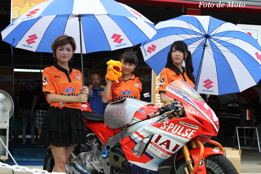 J-GP2 #2 エスパルスドリームレーシング 生形 秀之 Ogata Hideyuki GSX-MFD6