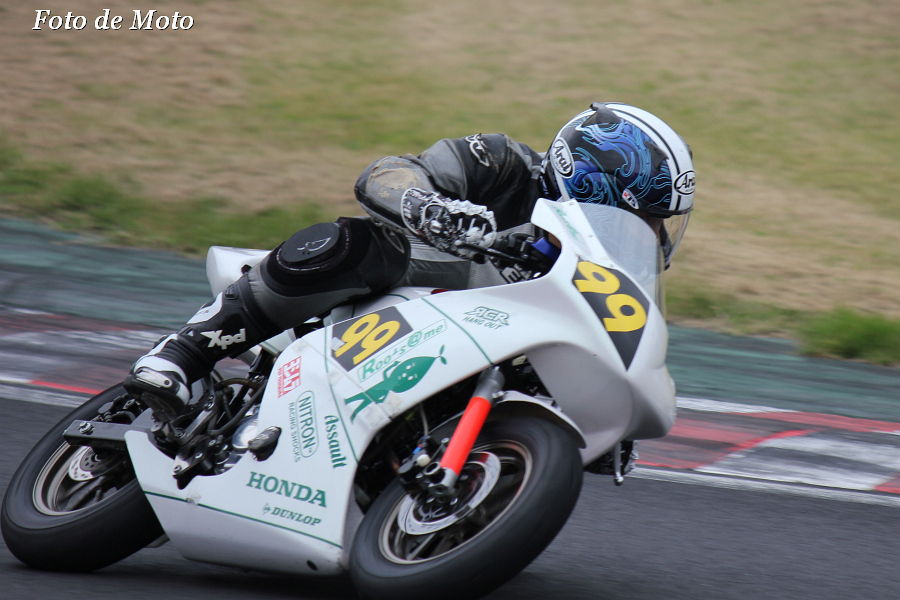 TC-mini 100 #99 Roots@me+RCR 田中 満 Honda Ape100
