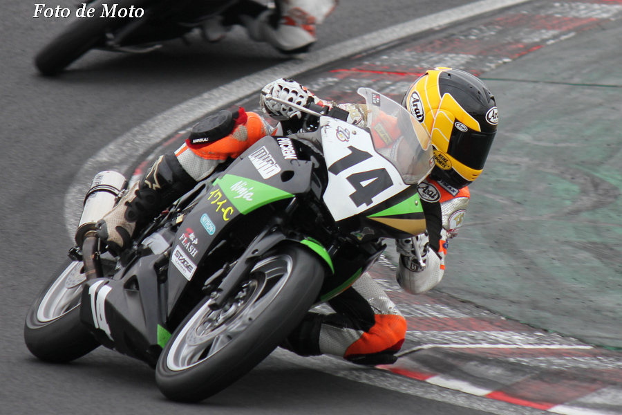 CBR250R #14 松戸FLASH @MIND@イワイ-C 三瓶 陽介 Honda CBR250R