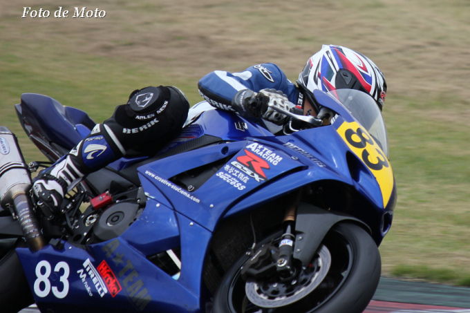 TC-F #83 A☆TEAM+REGULUS 板羽 靖成 Suzuki GSX-R1000