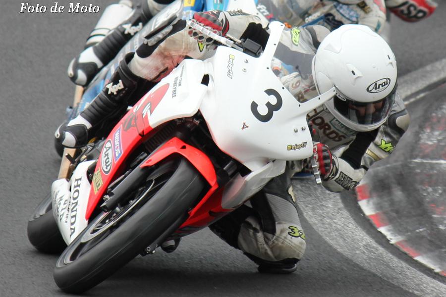 CBR250R #3 9RECORDS+ハニービー 遠藤 慈生 Honda CBR250R