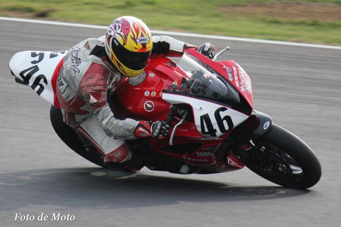 ST600 #46 ホビーHニシムラZTW&稲川塾 徳永 大輔 Honda CBR600RR