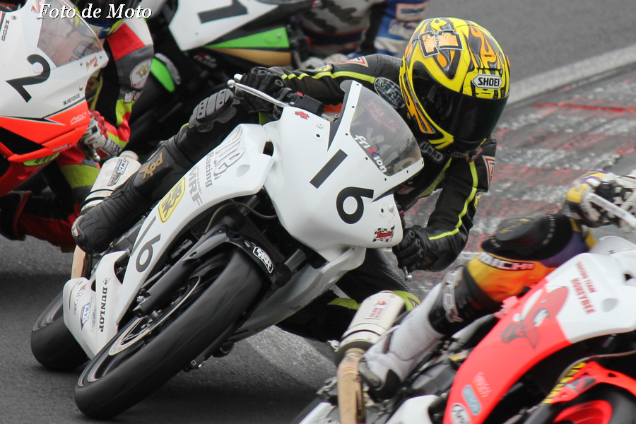 CBR250R #16 yueレーシング&RH松島+NTR 市橋 貴志 Honda CBR250R