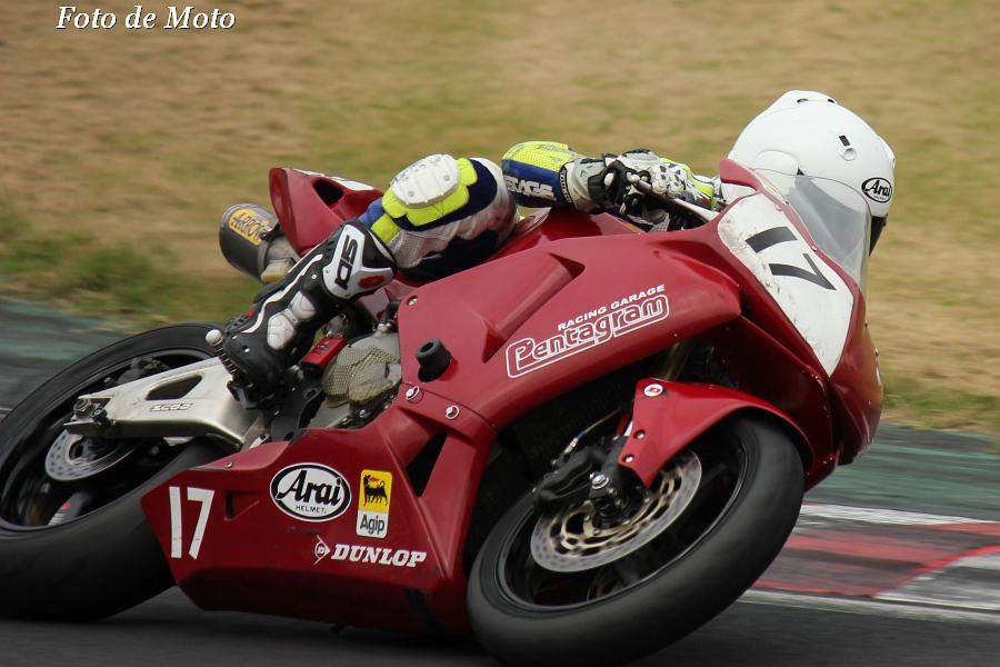 ST600 #17 Pentagram 川添 誠 Honda CBR600RR