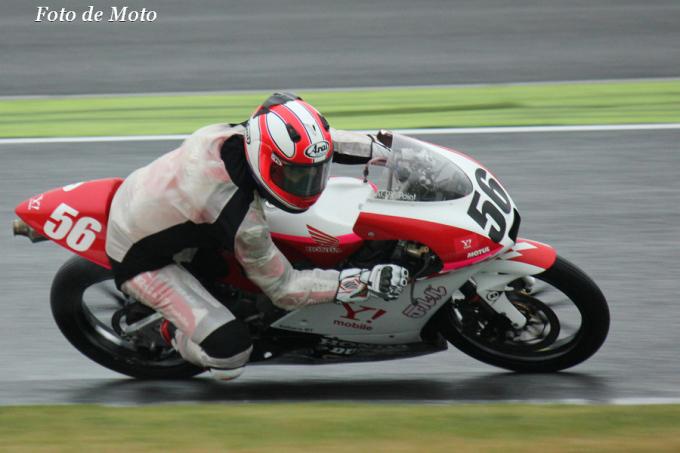 J-GP3 #56 テルル&Y!★KoharaRT 小室 旭 Komuro Akira Honda NSF250R