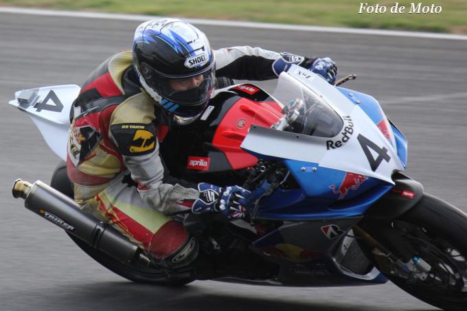 TC-F #4 リーンウィズレーシングチーム 土屋 正章 Aprilia RSV4Factory