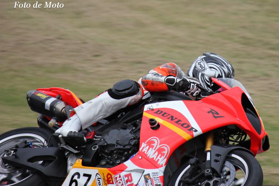 TC-F #67 マツエセブン&マルサ工務店 佐々木 忠之 Yamaha YZF-R1
