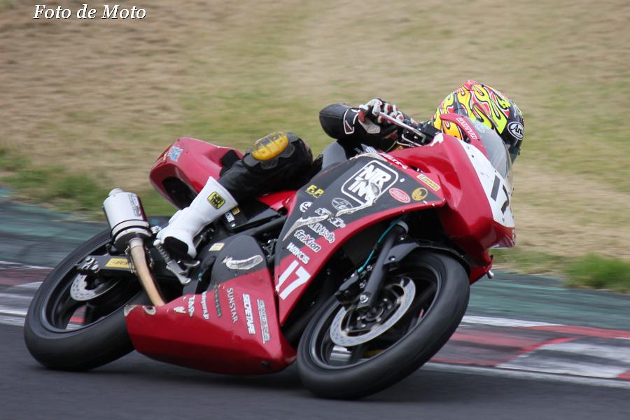 CBR250R #17 ワコーズRH松島7Cセクシー中野=NTR 田中 敬秀 Honda CBR250R