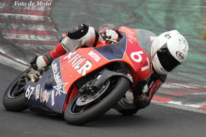 J-GP3 #67 メバルR/モトバランス大和田2 本宮 賢 Honda NSF250R