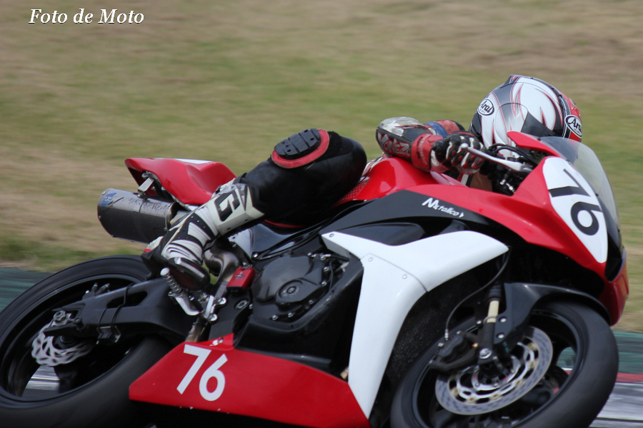 ST600 #76 二輪部 豊留 丈彦 Honda CBR600RR