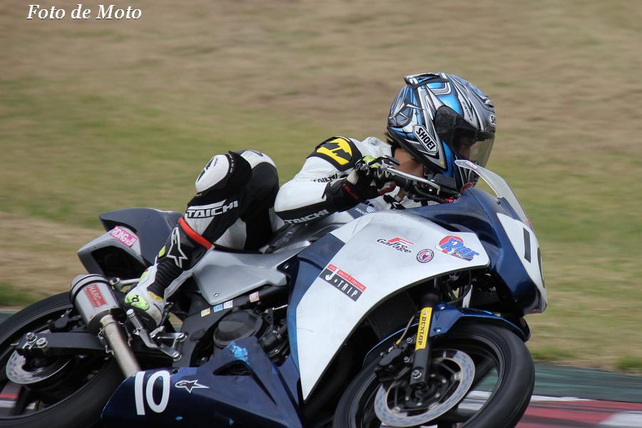CBR250R #10 ファイヤーガレージ&RISE 城田 鉄馬 Honda CBR250R