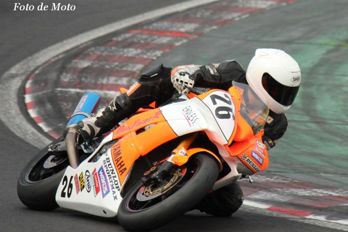 ST600 #26 ドッグファイトレーシング 髙岡 寛之 Yamaha YZF-R6