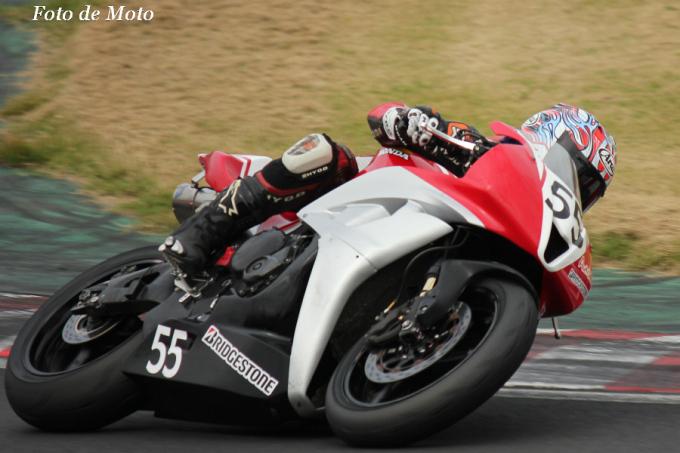 ST600 #55 TeamAutowins☆super.TORNADO!!! 島田 裕一郎 Honda CBR600RR