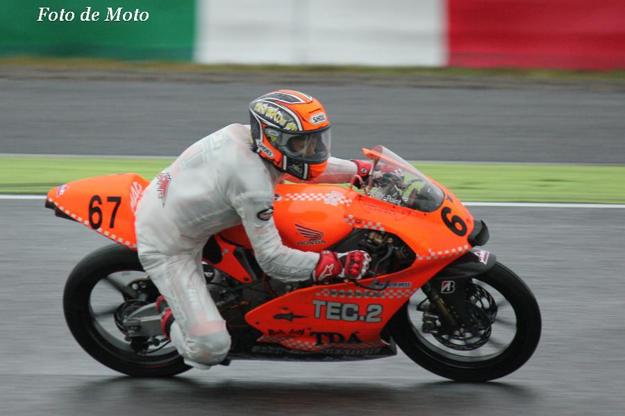 J-GP3 #67 TEC2&TDA&NOBBY 鳥羽 海渡 Toba Kaito Honda NSF250R