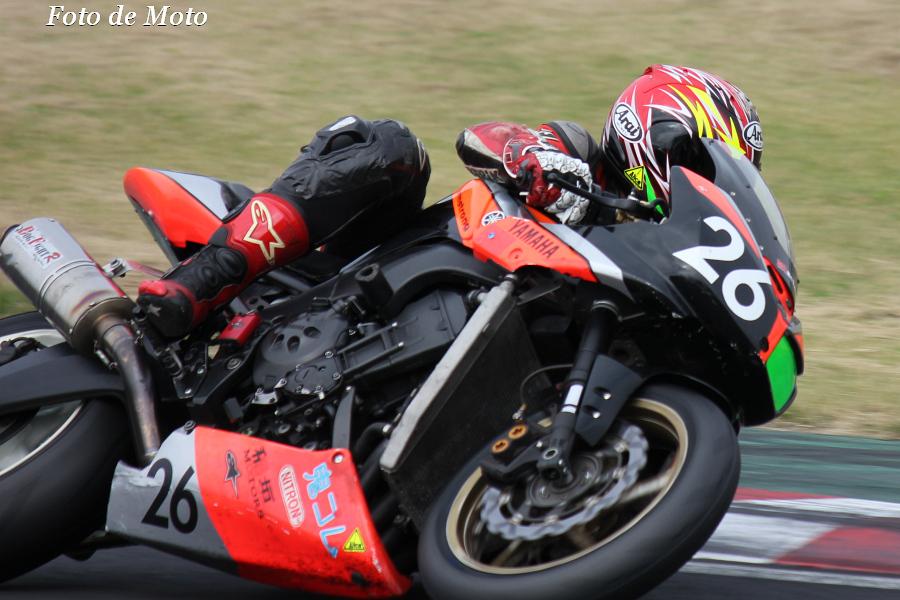 TC-F #26 稲垣モータースRT 冨岡 琢磨 Yamaha FZ-1